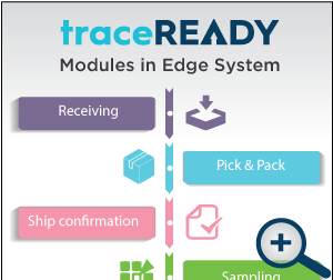 traceREADY Warehouse Edge System Modules